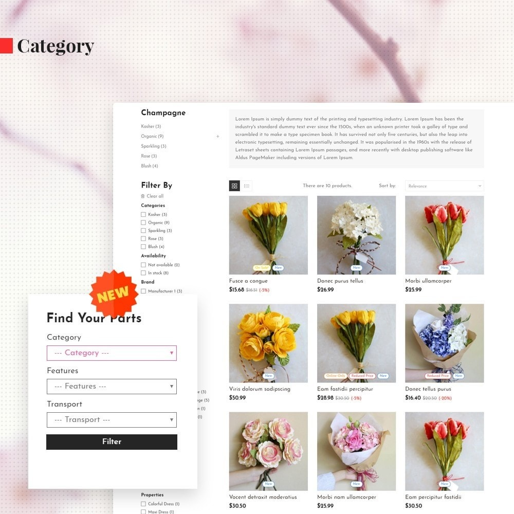 theme - Gifts, Flowers & Celebrations - Leo Orchid - 5