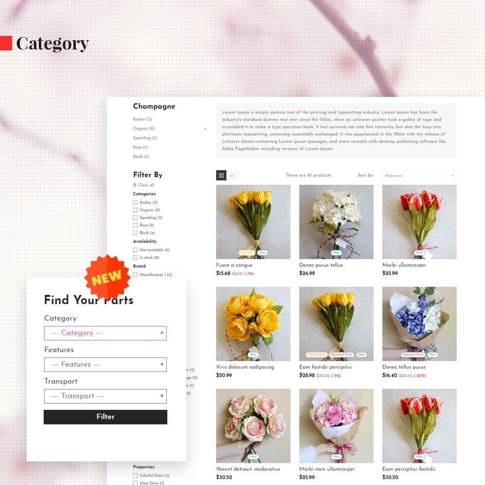 theme - Cadeaux, Fleurs et Fêtes - Leo Orchid - 5