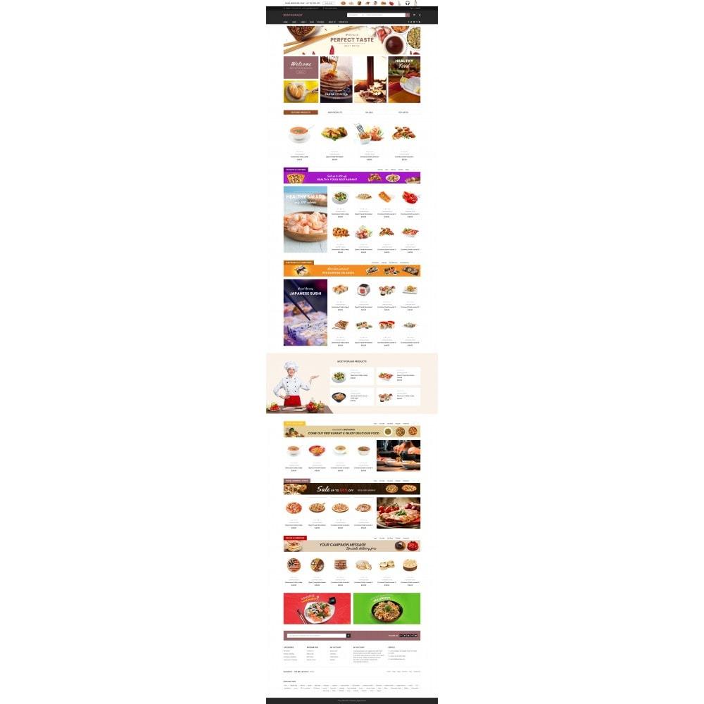 theme - Cibo & Ristorazione - Food & Restaurant - Supermarket - 1
