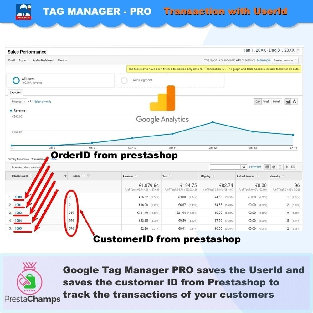 module - Analysen & Statistiken - Advanced Google Tag Manager - PRO - 4