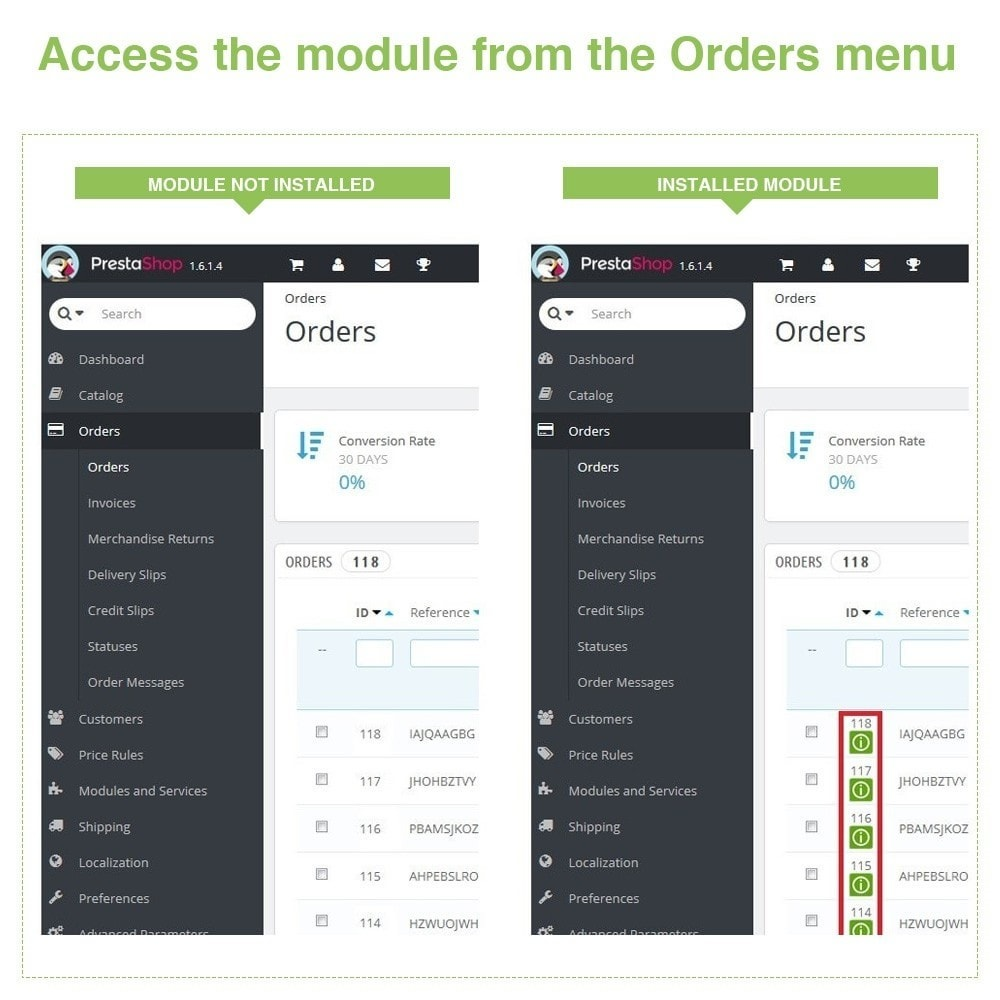 bundle - Order Management - Display Pack - Increase your Visibility - 3 Modules - 7