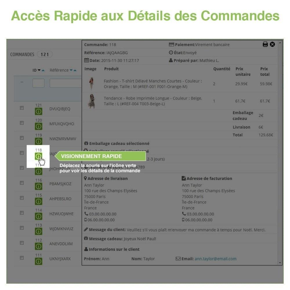 bundle - Gestion des Commandes - Pack Gérer les commandes et les produits rapidement - 3