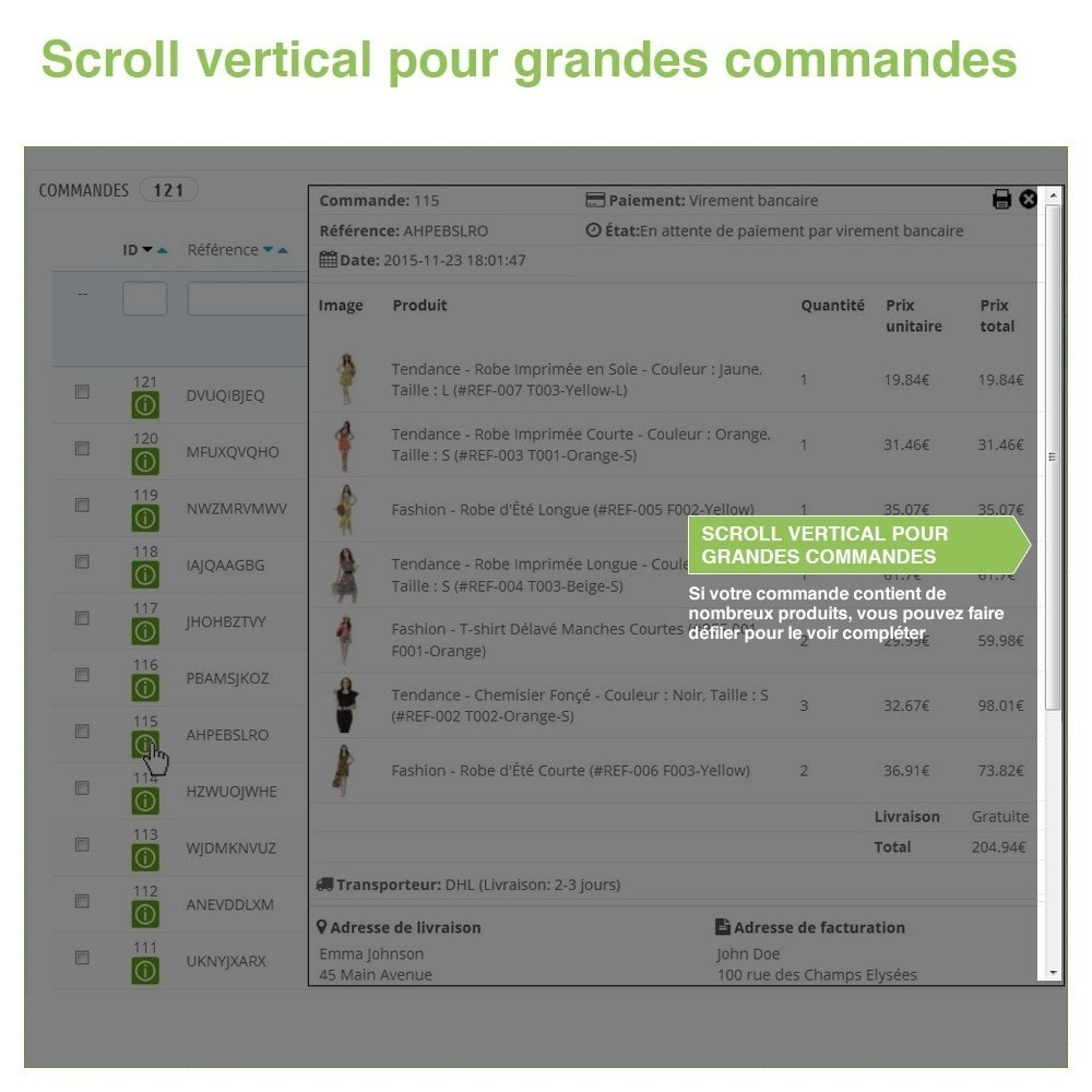 bundle - Gestion des Commandes - Pack Gérer les commandes et les produits rapidement - 4