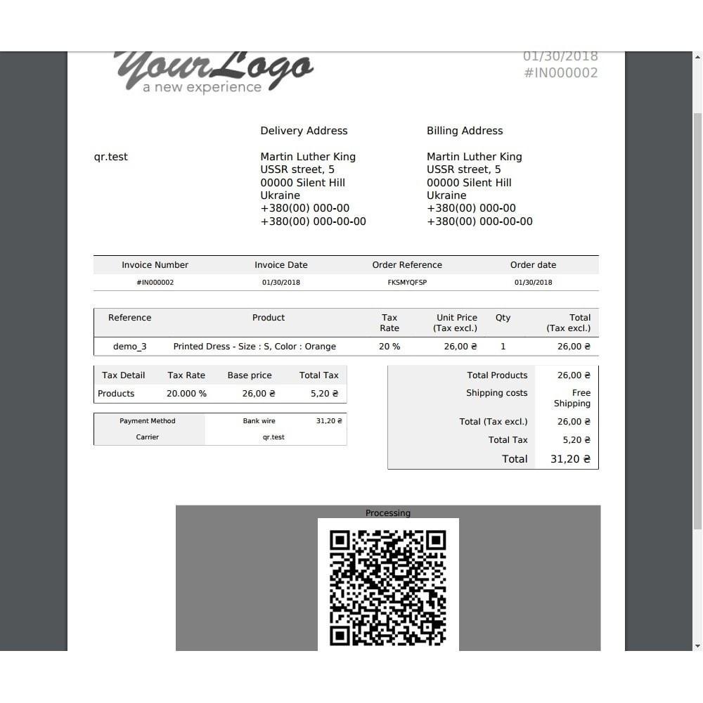 module - Przygotowanie & Wysyłka - Delivery Automation QR-code - 3