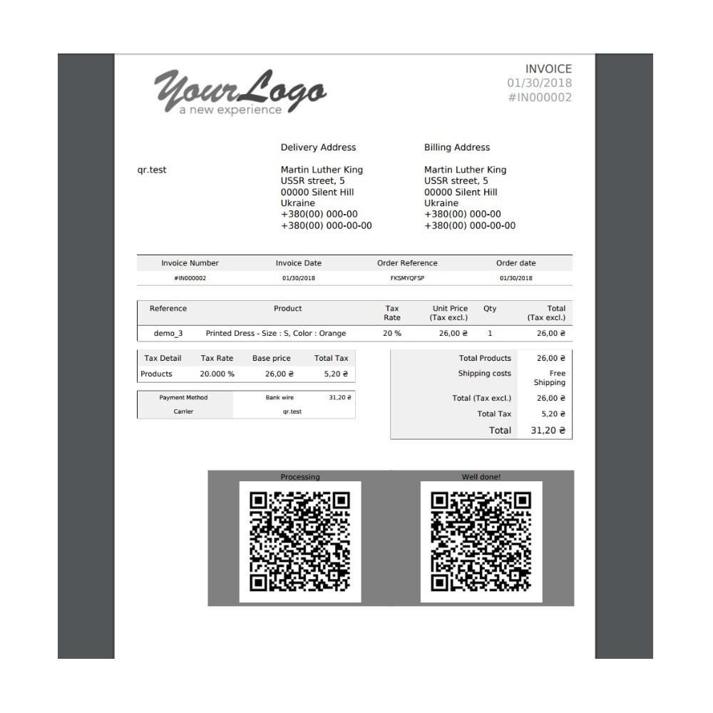 module - Przygotowanie & Wysyłka - Delivery Automation QR-code - 6