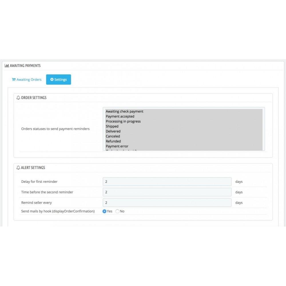 module - Процесс заказа - Напоминание о неоплаченных заказах - 4
