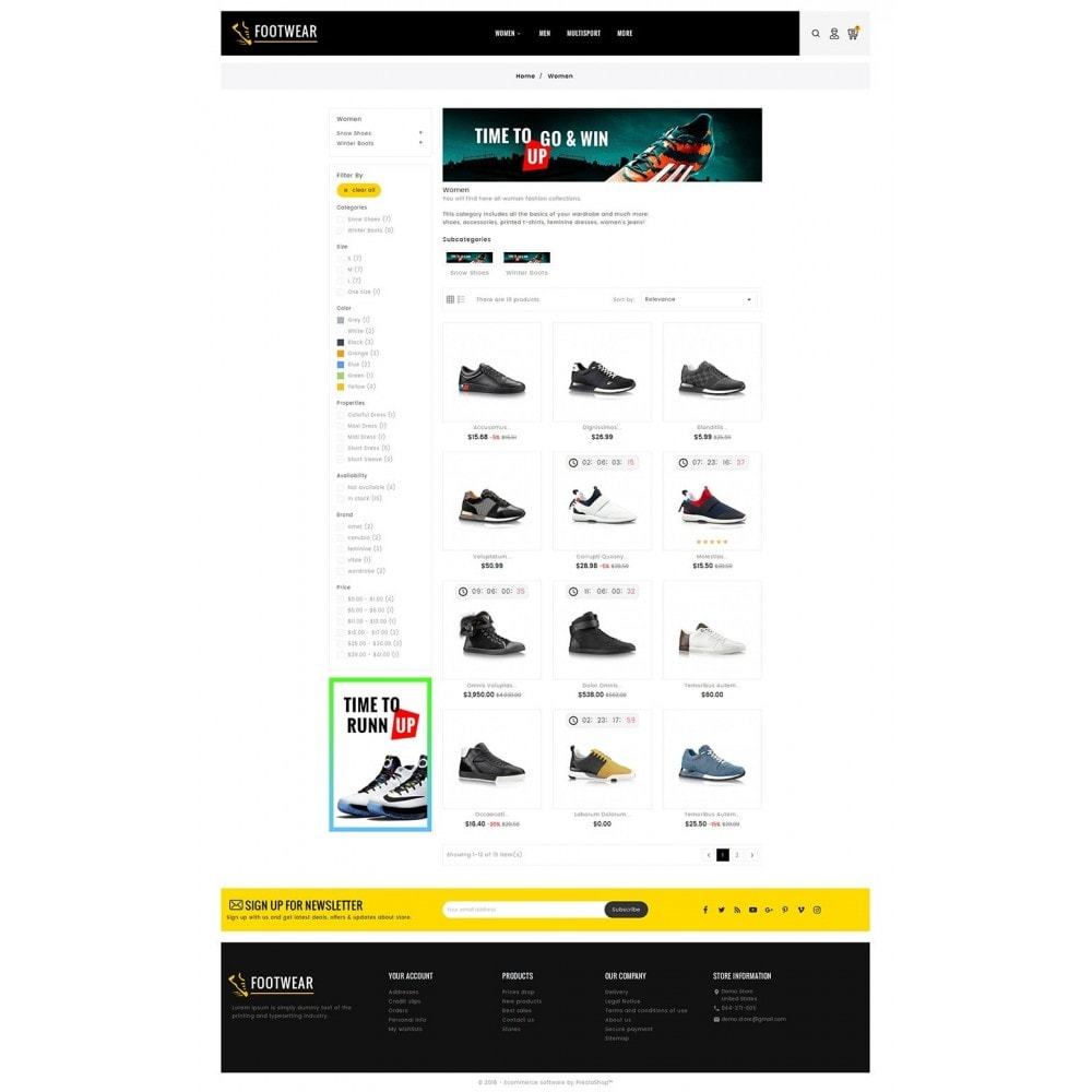 theme - Sports, Activities & Travel - Sports & Footwear - 3