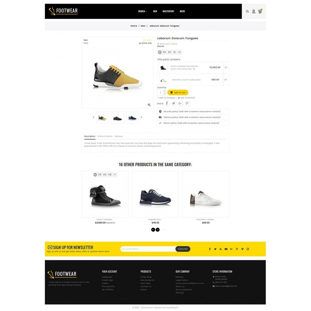 theme - Sport, Rozrywka & Podróże - Sports & Footwear - 5