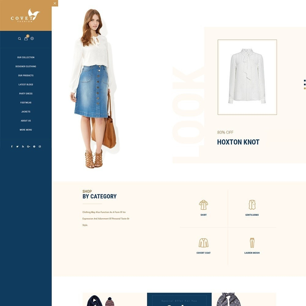 theme - Mode & Chaussures - Covet Fashion Store - 2