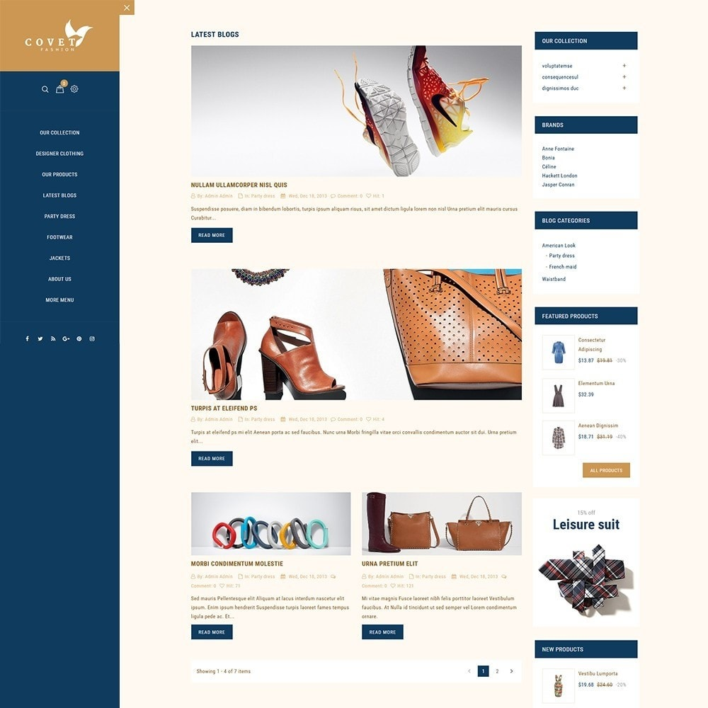 theme - Mode & Chaussures - Covet Fashion Store - 7