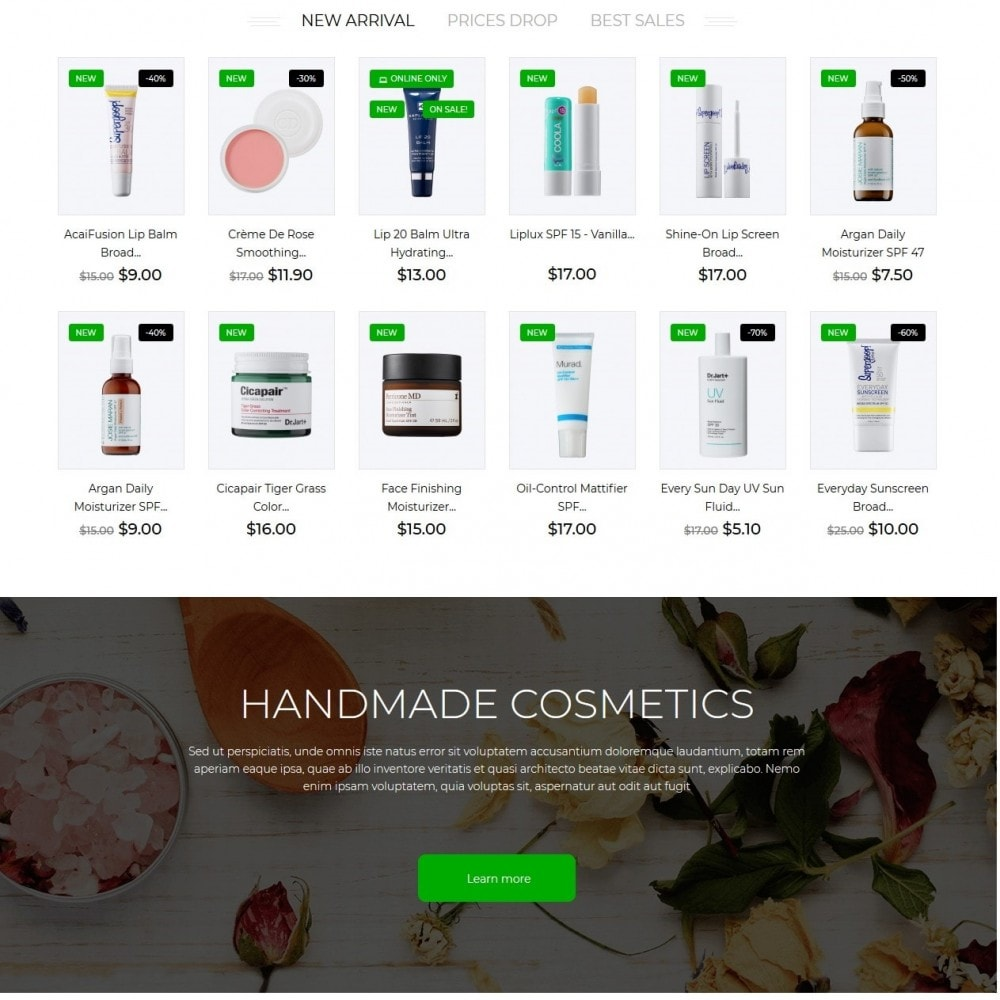 theme - Health & Beauty - Amala Cosmetics - 3