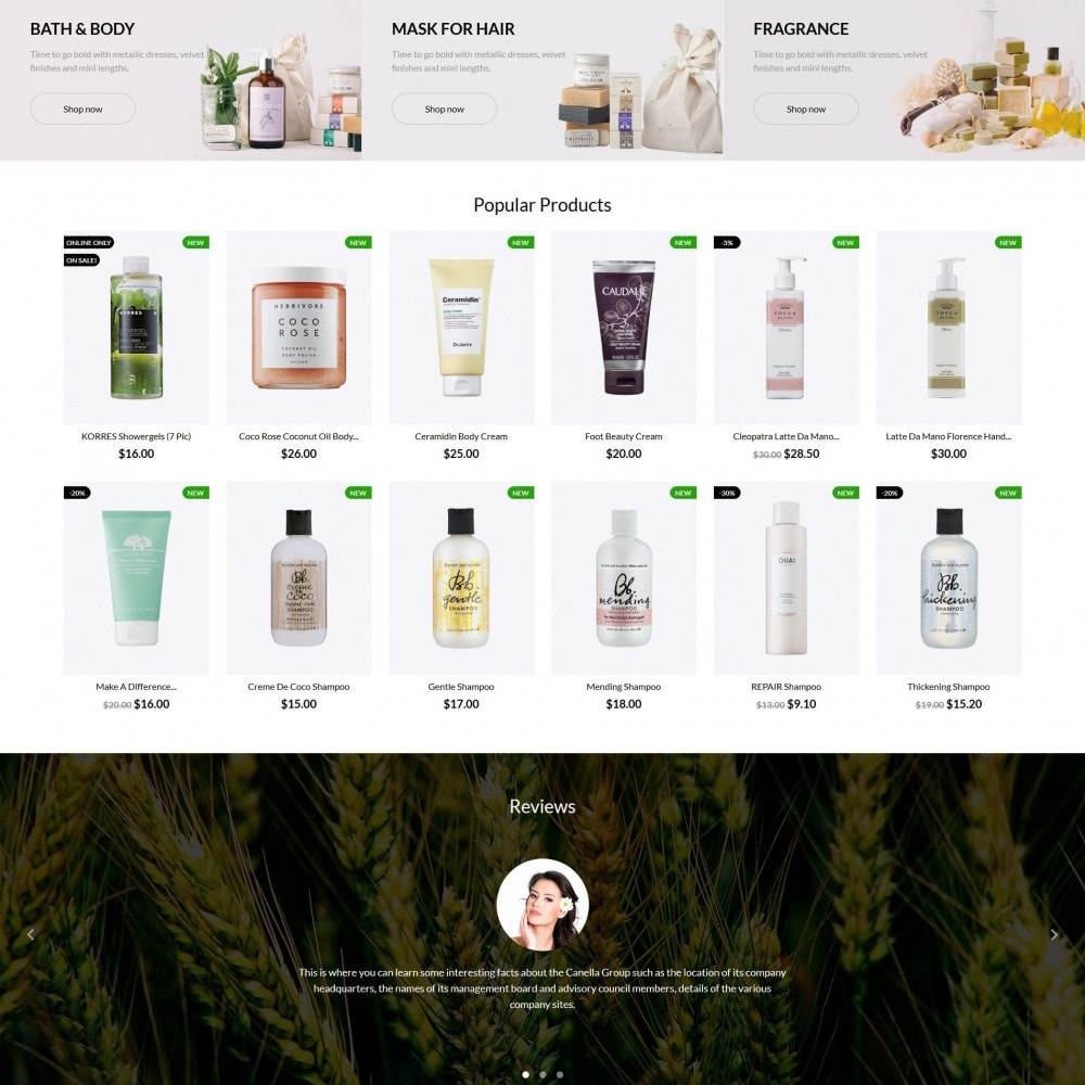 theme - Health & Beauty - ColorDrop Cosmetics - 3