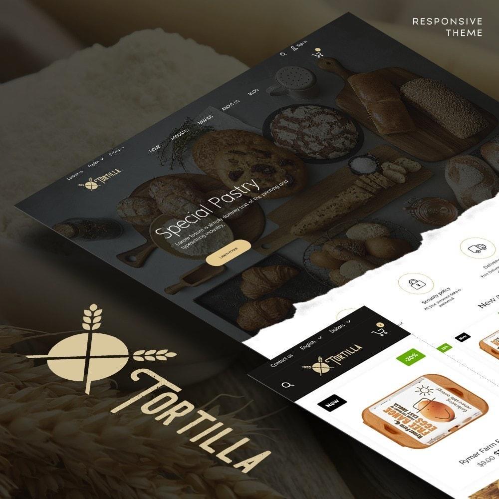 theme - Продовольствие и рестораны - Tortilla - 1