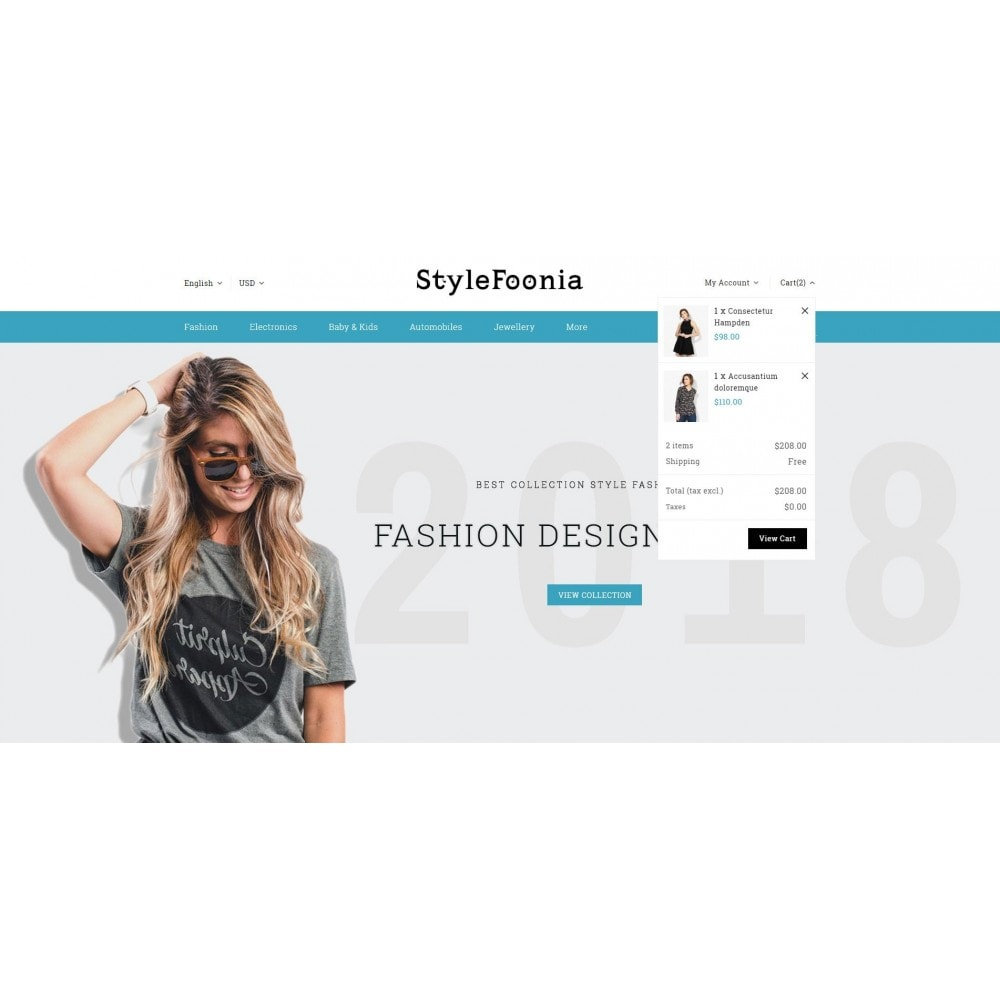 theme - Fashion & Shoes - Style Foonia - Fashion Store - 8