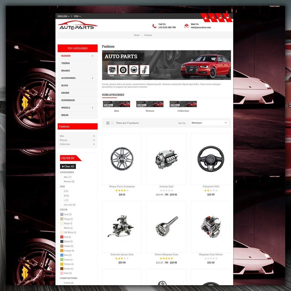 theme - Samochody - Auto Parts Store - 4