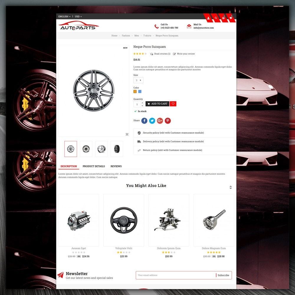 theme - Samochody - Auto Parts Store - 6