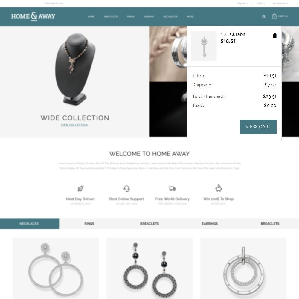 theme - Schmuck & Accesoires - Homeaway Jewelry Store - 7