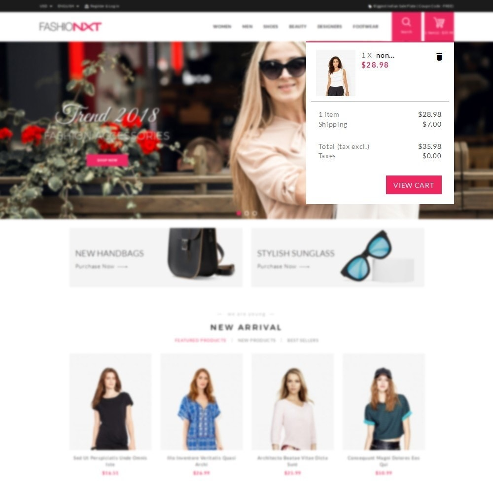 theme - Mode & Schuhe - Fashionxt Store - 8