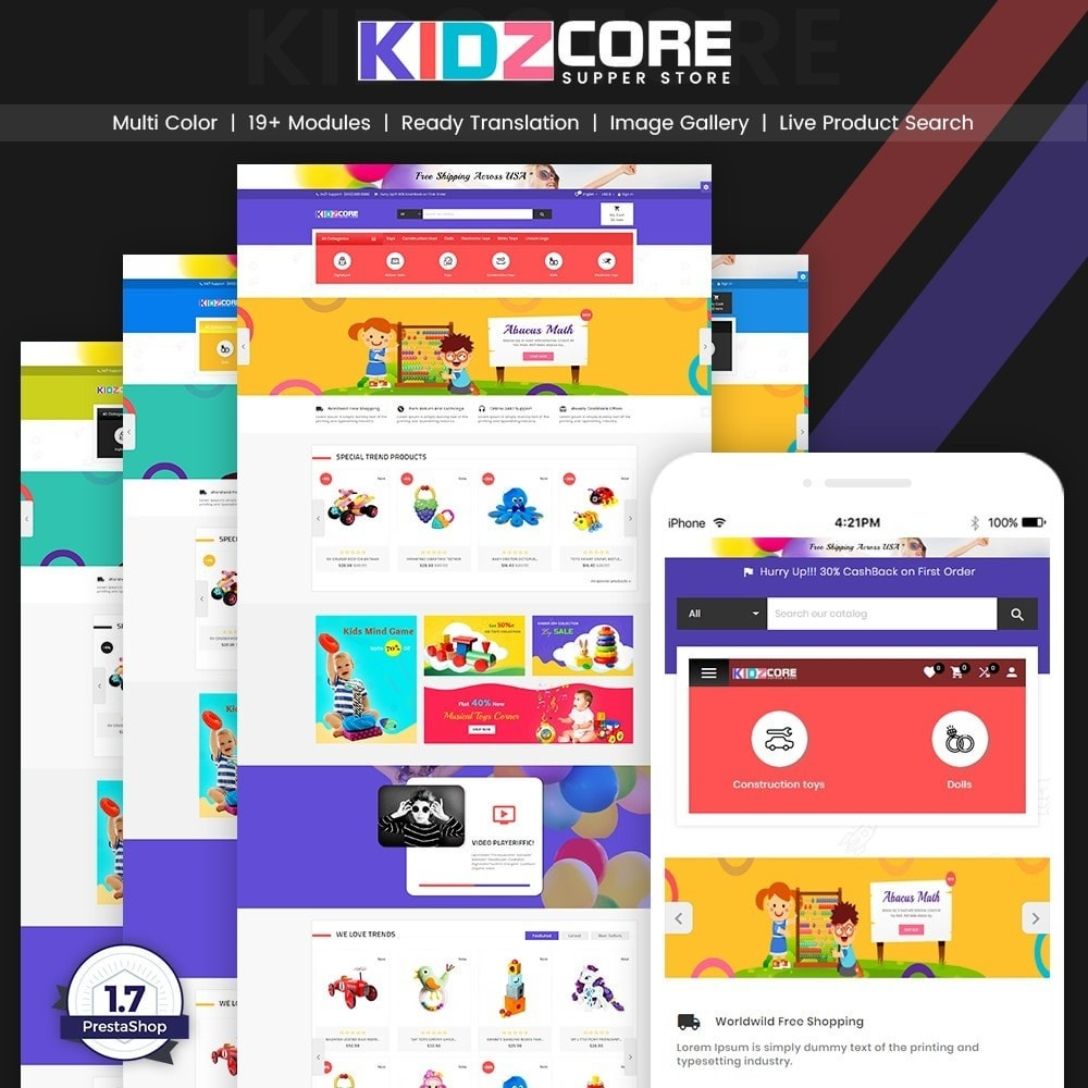 theme - Kids & Toys - Kidz Core – Kids Toy Super Store - 1