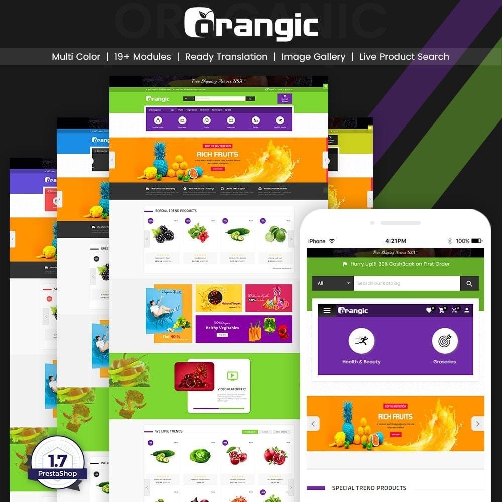 theme - Alimentation & Restauration - Orangic – Fresh Green Foods Super Store - 1