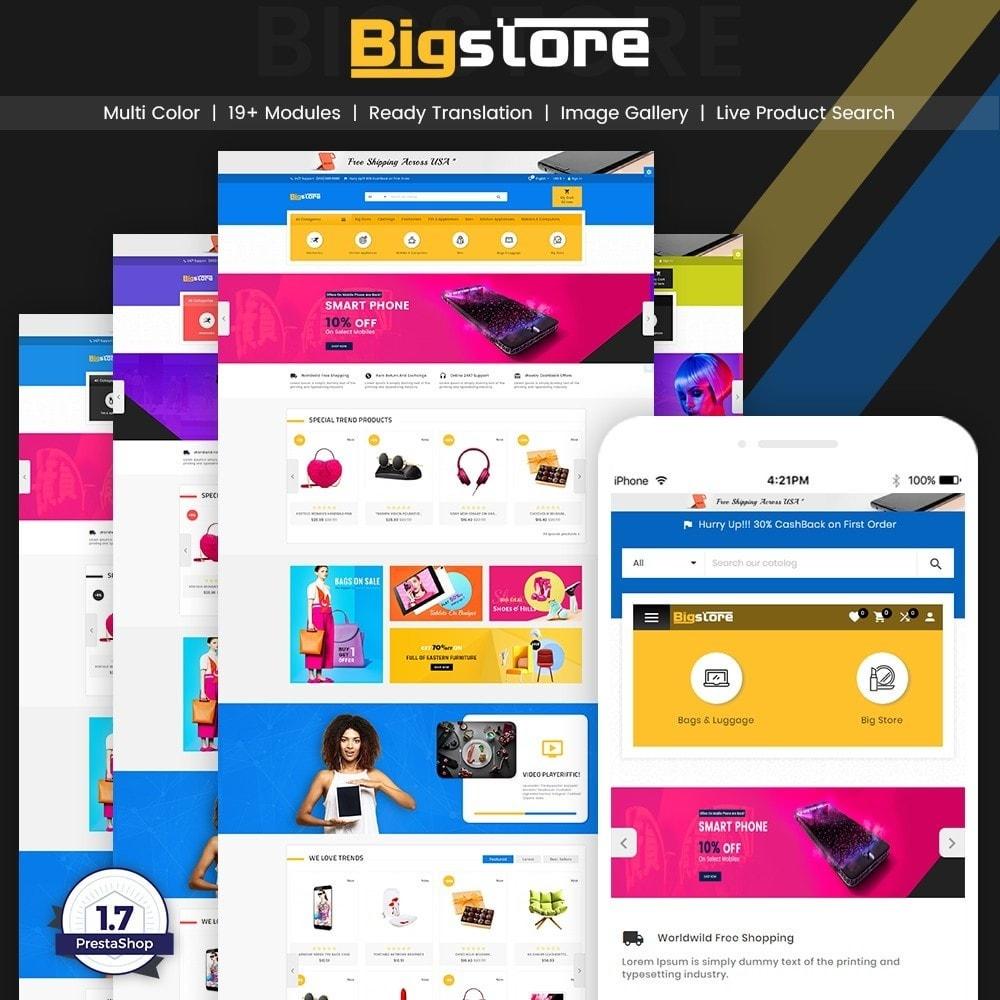theme - Eletrônicos & High Tech - Big Super Store - Mega Electronic and Fashion - 1