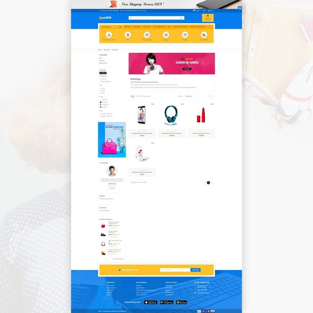 theme - Elettronica & High Tech - Big Super Store - Mega Electronic and Fashion - 3