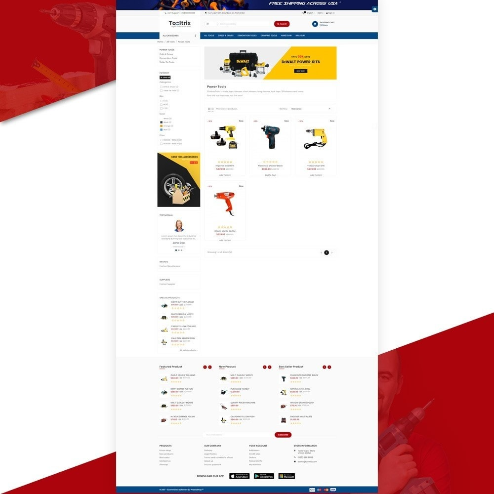theme - Coches y Motos - ToolTrix – Tools and Parts Super Store v2 - 3