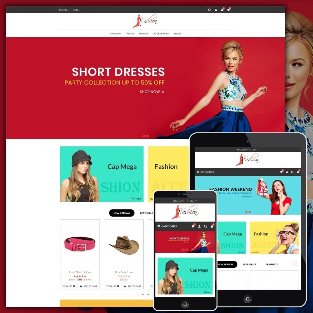 theme - Fashion & Shoes - Fashion Style Shop - 1