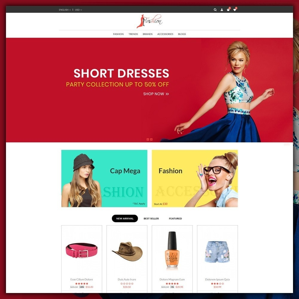 theme - Moda y Calzado - Fashion Style Shop - 2