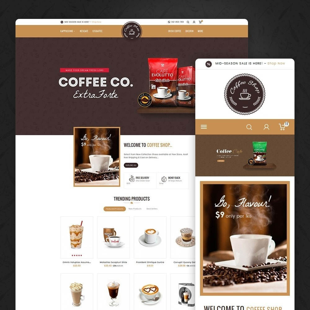 theme - Bebidas & Tabaco - Coffee Shop - 1