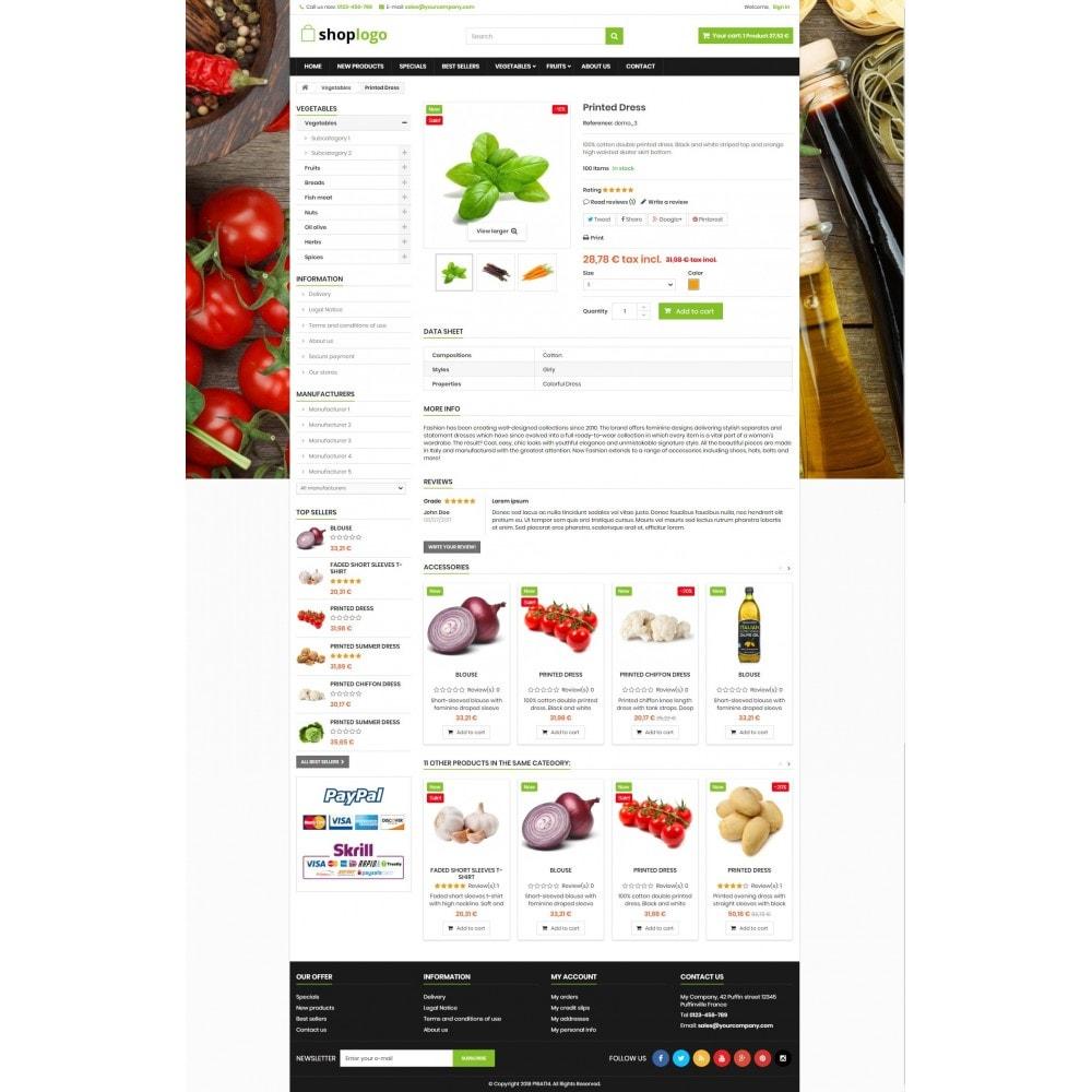 theme - Alimentos & Restaurantes - P16AT14 Food store - 4