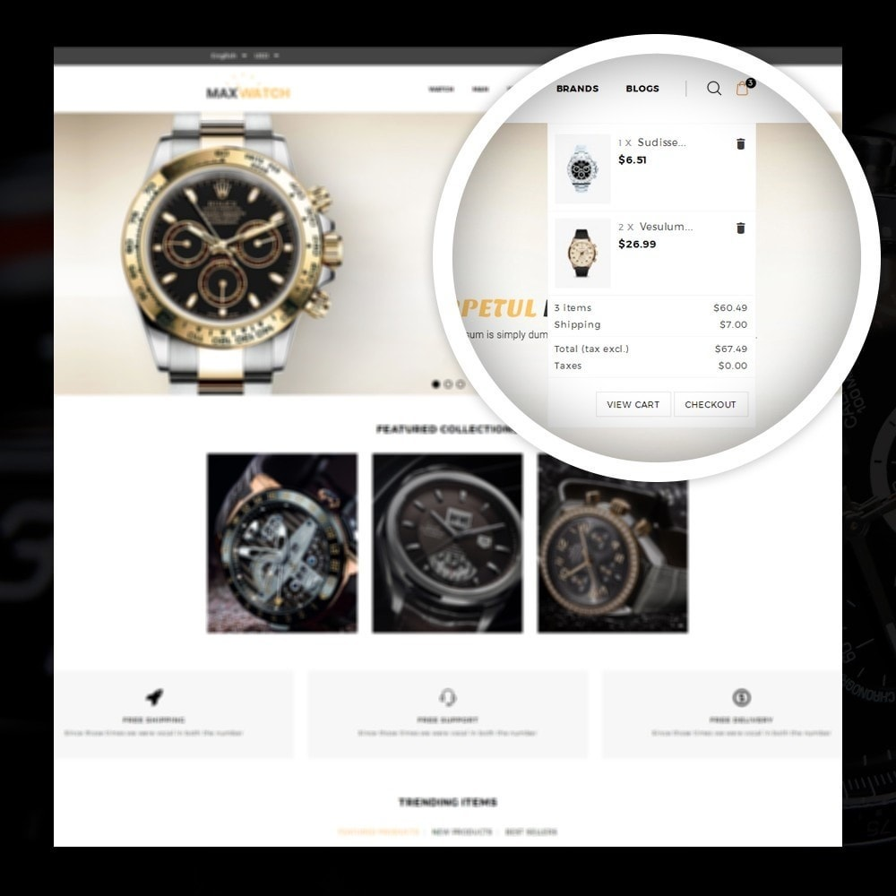 theme - Gifts, Flowers & Celebrations - MaxWatch - Watch store - 6