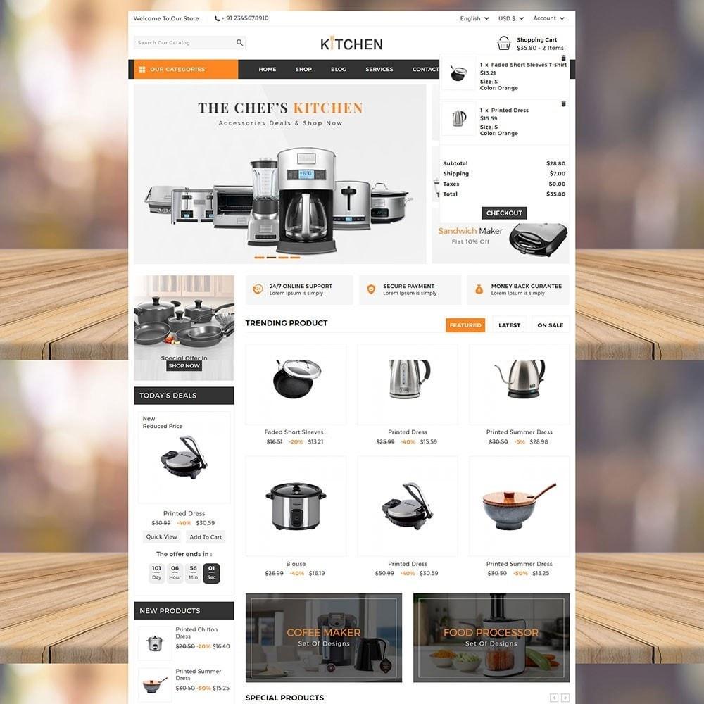 theme - Casa & Jardins - Kitchen Store - 3