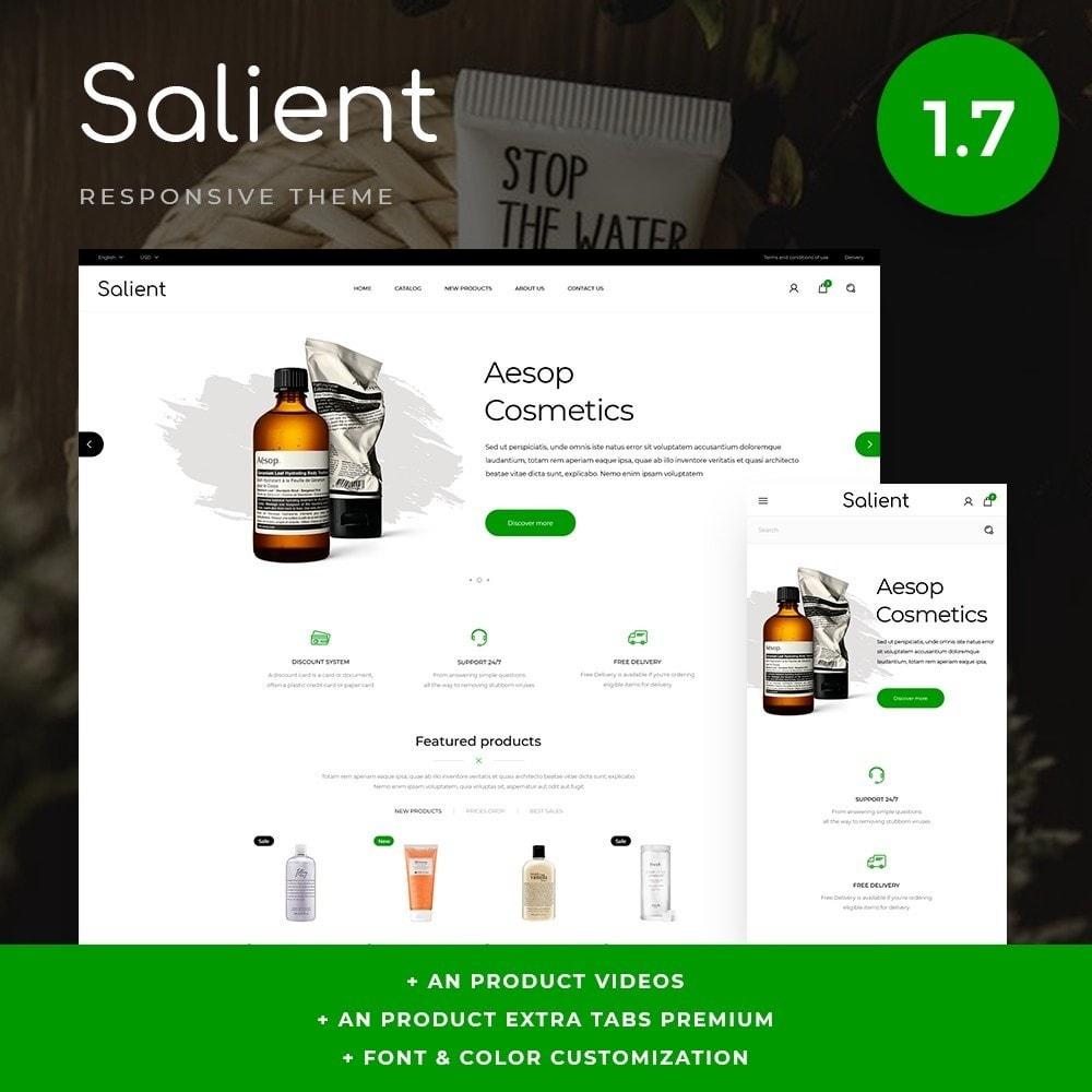 theme - Salute & Bellezza - Salient Cosmetics - 1