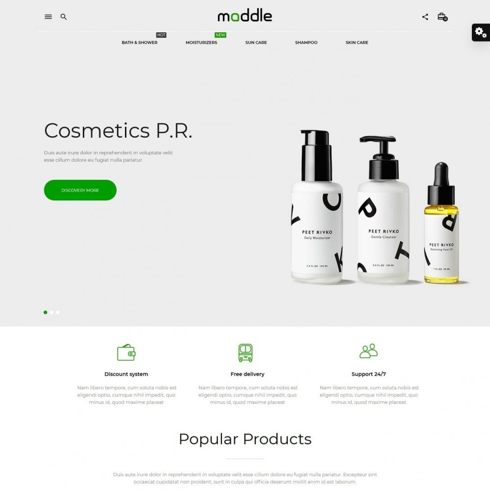 theme - Health & Beauty - Maddle Cosmetics - 2
