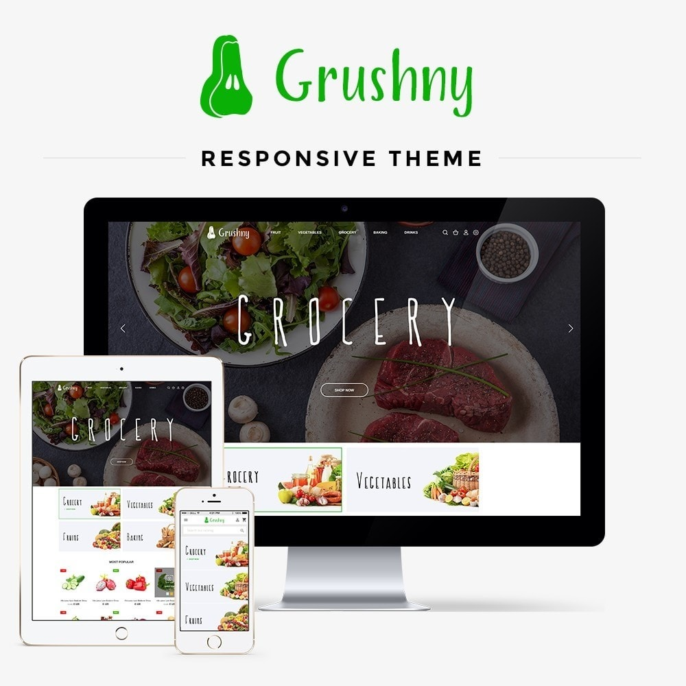 theme - Food & Restaurant - Grushny - 1