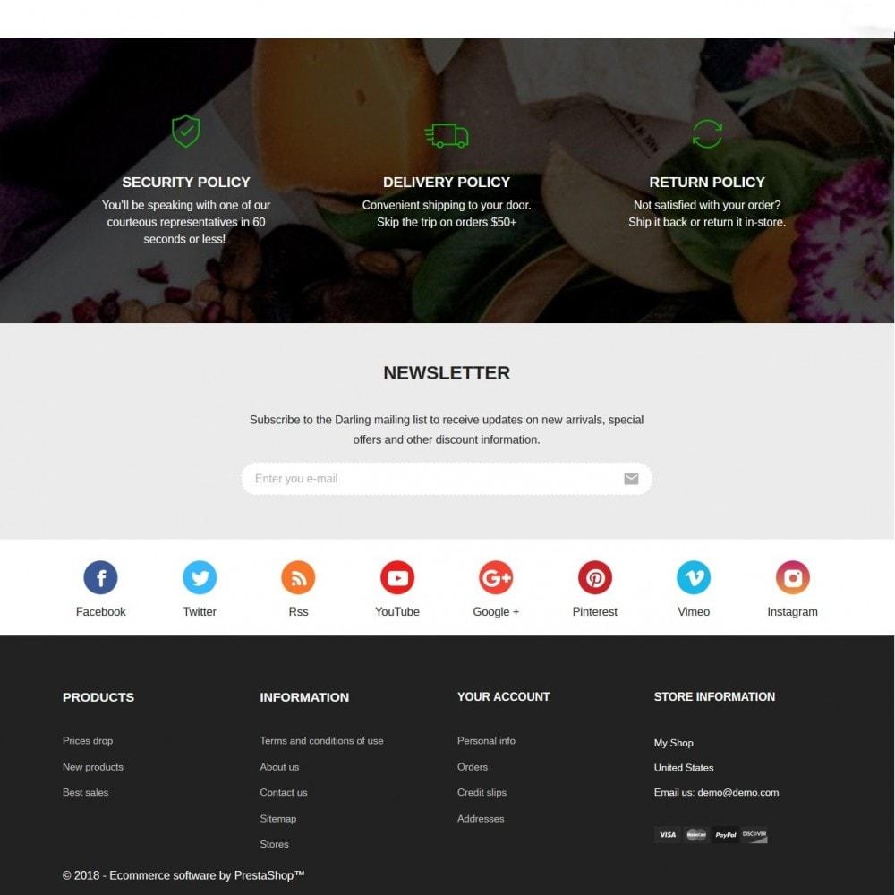 theme - Alimentos & Restaurantes - Grushny - 4