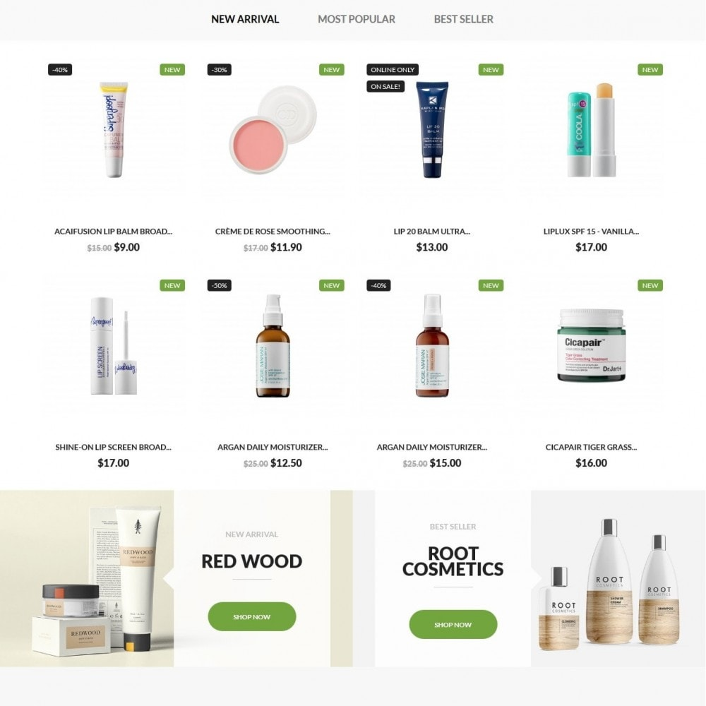 theme - Health & Beauty - Magnolia Cosmetics - 3