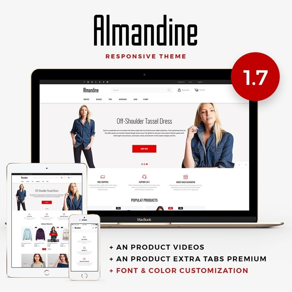 theme - Mode & Chaussures - Almandine Fashion Store - 1