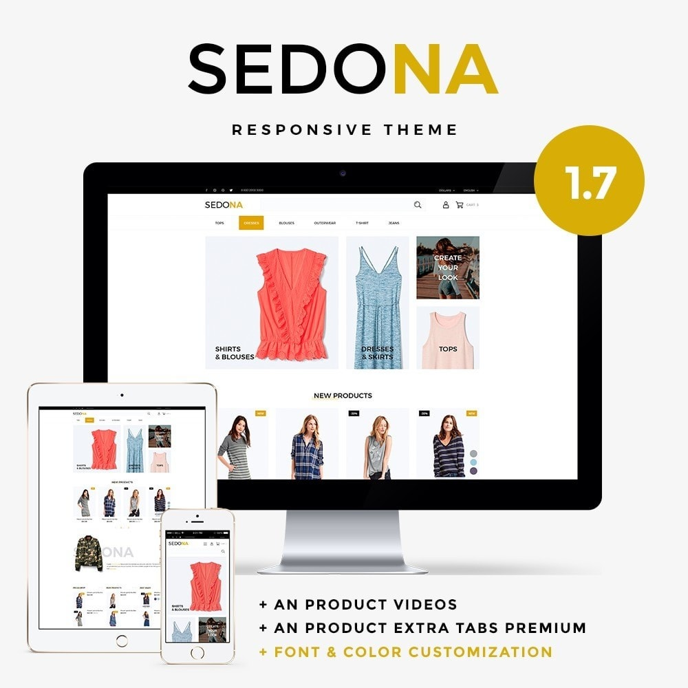 theme - Fashion & Shoes - Sedona Fashion Store - 1
