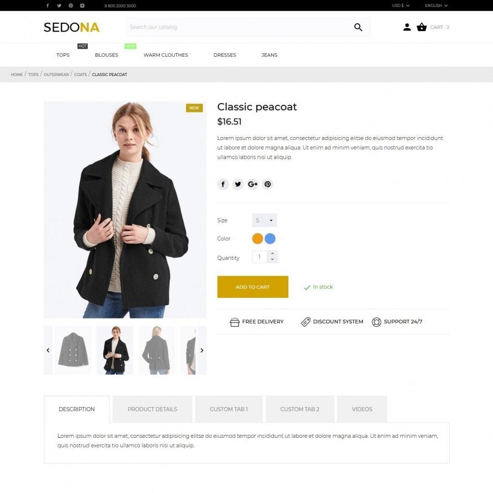 theme - Moda & Calçados - Sedona Fashion Store - 7