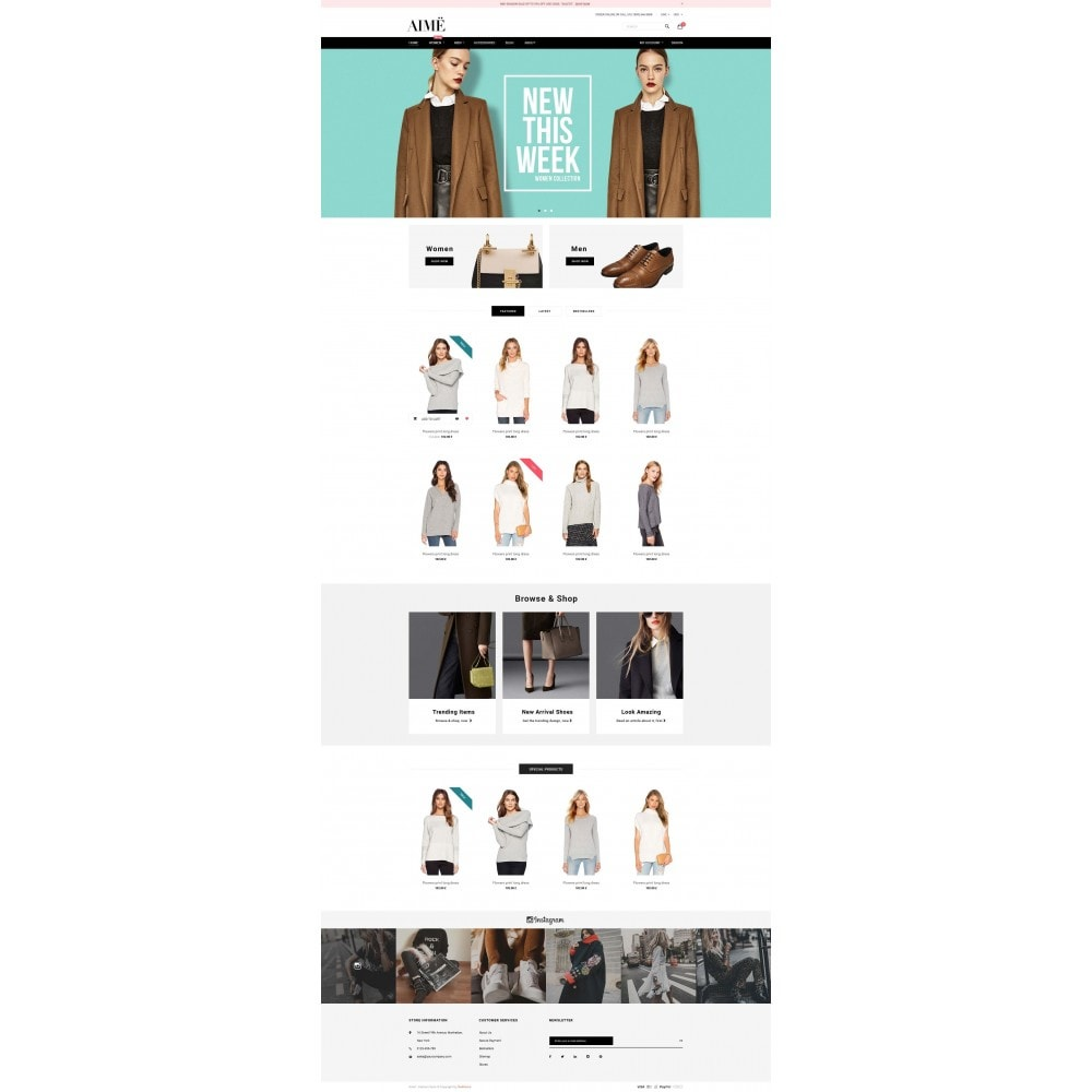 theme - Fashion & Shoes - Aime Fashion - 2