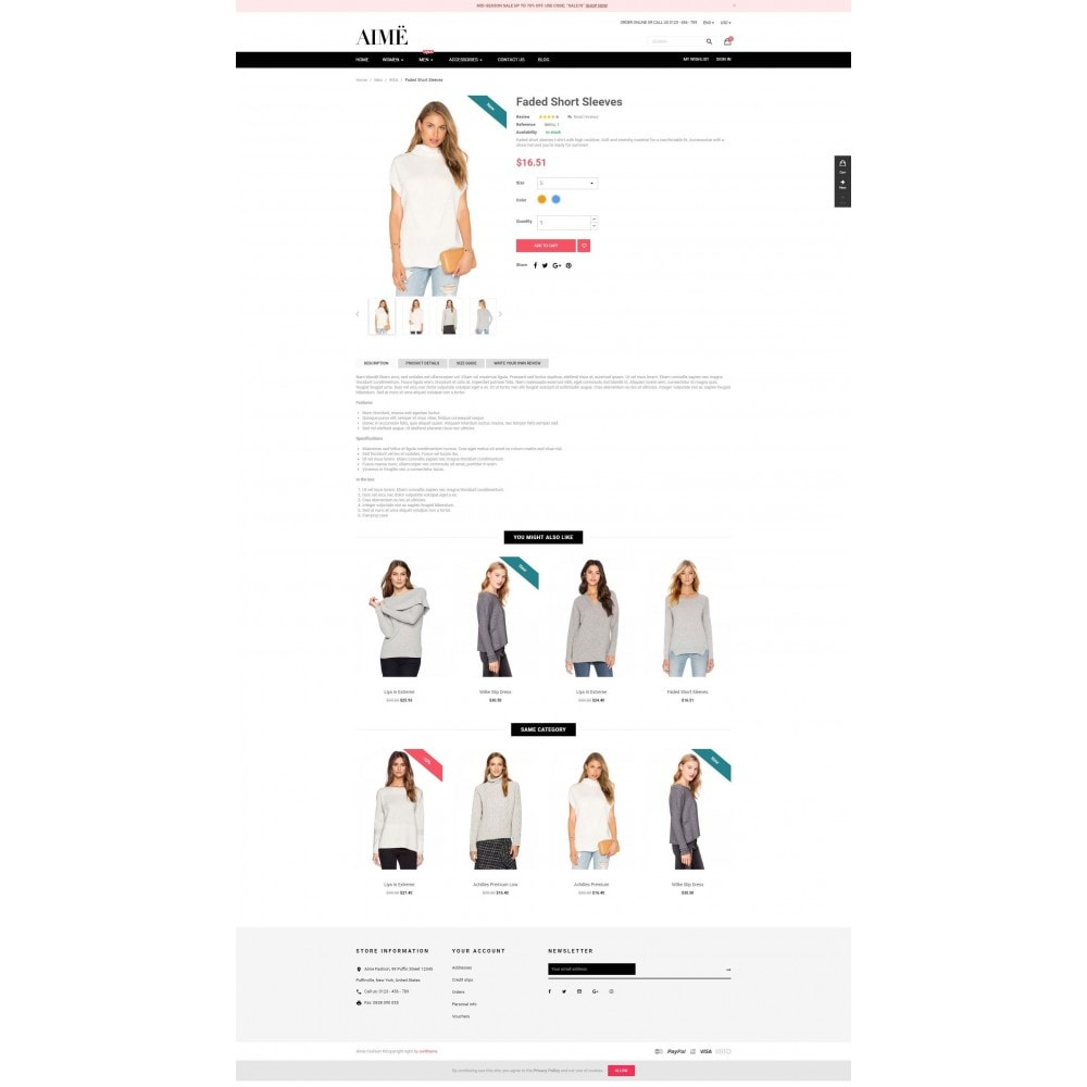 theme - Moda & Obuwie - Aime Fashion - 4