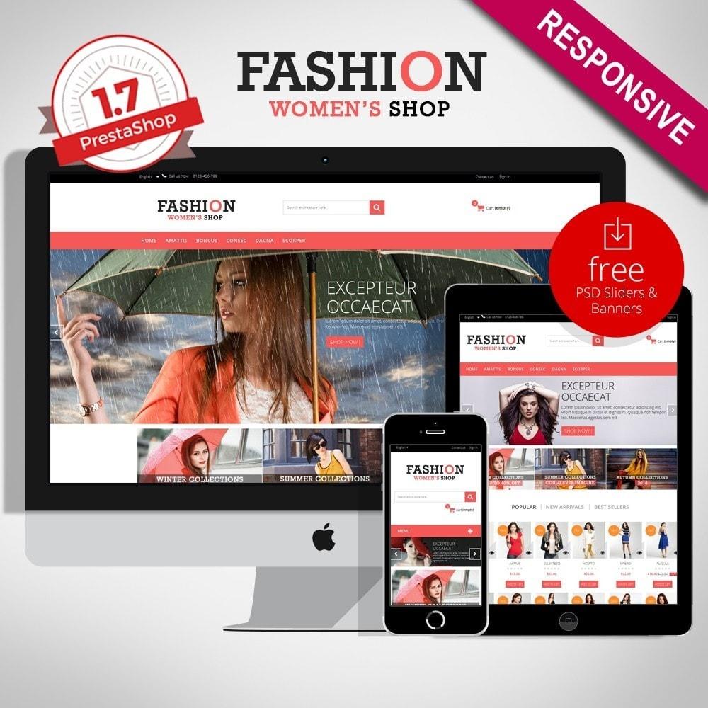 theme - Moda y Calzado - Fashion Multipurpose HTML5 - 1
