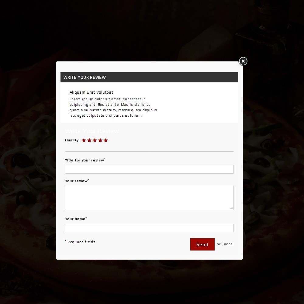 theme - Food & Restaurant - Pizza Store - 7