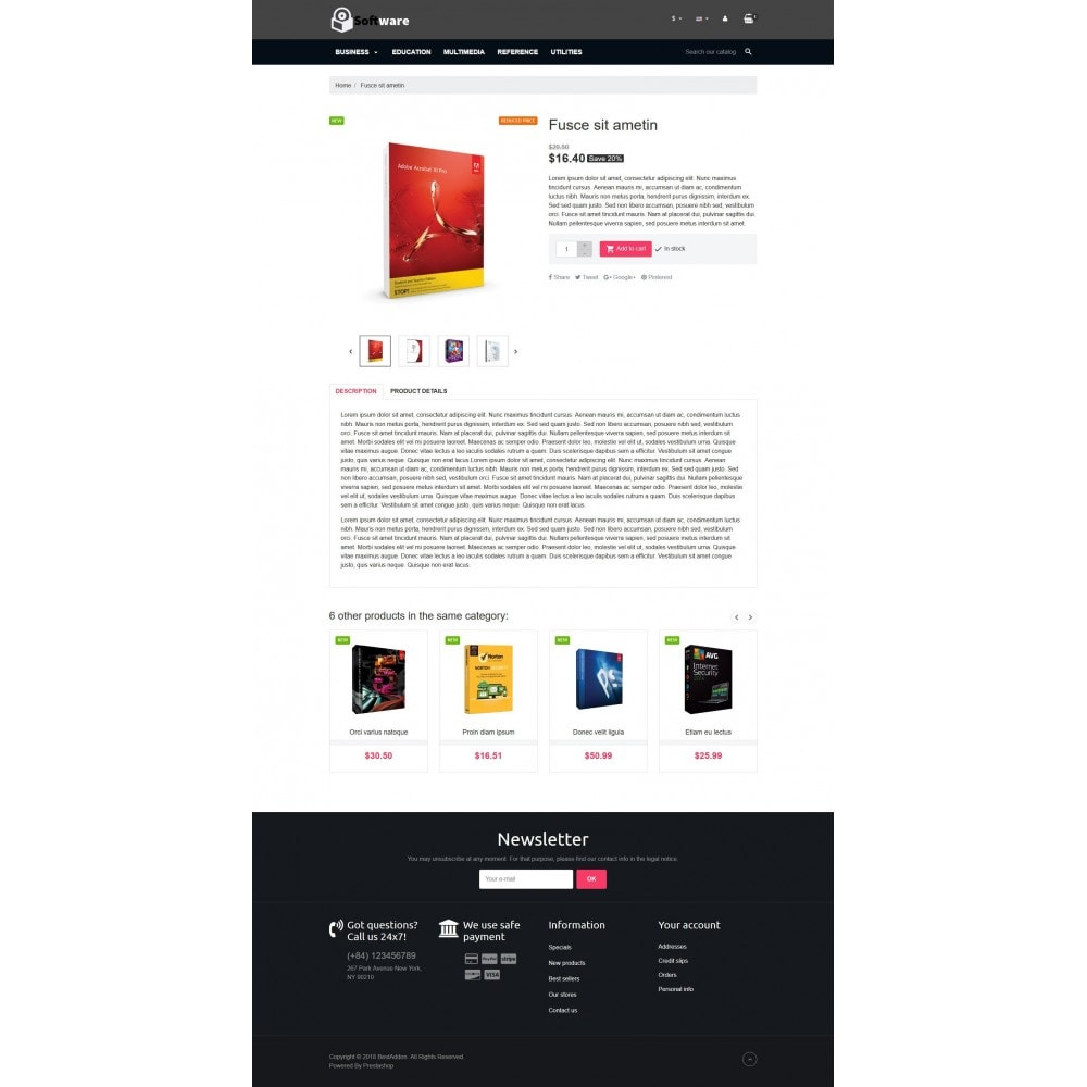 theme - Elektronika & High Tech - VP_Software Store - 4
