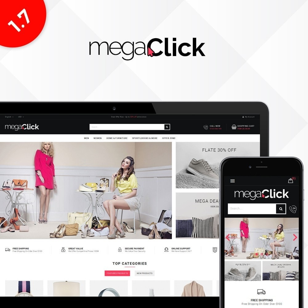 theme - Huis & Buitenleven - Megaclick Store - 1
