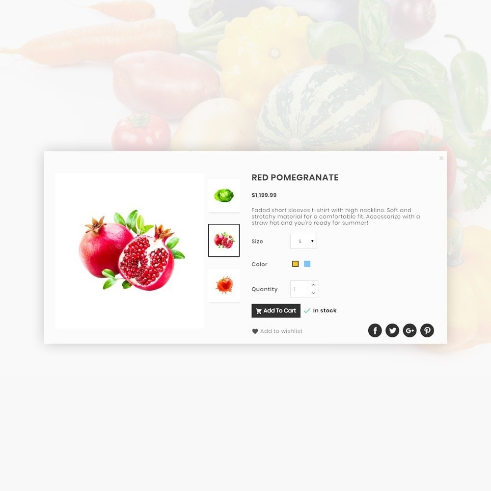 theme - Lebensmittel & Restaurants - Orangic – Fresh Green Foods Super Store - 14