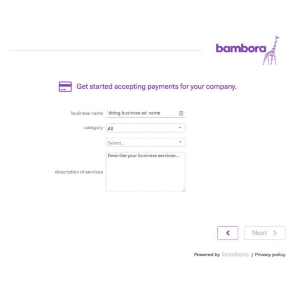 module - Payment by Card or Wallet - Bambora North America Gateway - 2