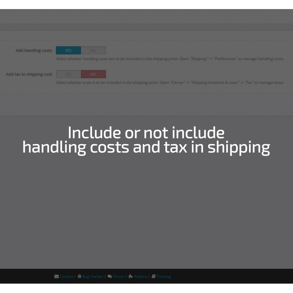 module - Shipping Costs - Shipping cost by Zip, Postal code, Country, State, City - 8